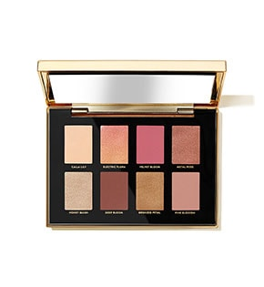 Luxe Metal Rose Eye Shadow Palette